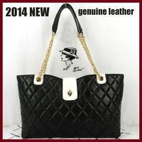 new arrival women leather handbags 2014 design women shoulder bags genuine leather high quality women handbags tote