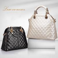 NEW 2014 Best Selling Brand Luxury women Shoulder Bag Stylish lady Handbag Women Casual Leather Black handbags WB2019