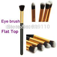 1 pcs Long hand F80 Flat makeup Brush Professional Eye Shadow Make up Brushes Kabuki Pencil Brush Cosmetics tools