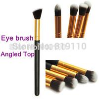 Promotion Professional Angled Kabuki Pencil Makeup Brush Synthetic hair Makeup Brush EyeShadow Make-up Brushes Set Cosmetic Tool