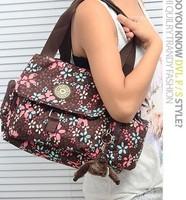 1pcs 2014 New Arrival fashion women nylon canvas kip handbag shoulder bag with monkey messenger bag free shipping