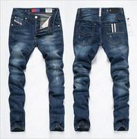 Disel new 2014 classic blue designer jeans men jeans stylemen jeans famous brand 28-38