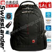 brand SWISSLANDER,swiss,15.6 inch laptop backpack,notebook back pack,laptop bagpack w/ freegift, for notebook, for Macbook