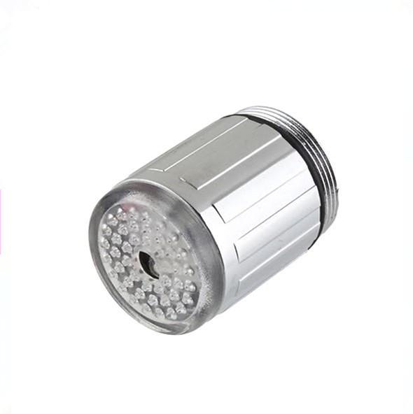 Spedizione gratuita in mini abs ha condotto la luce del rubinetto automatico 7 colori acqua cambia bagliore doccia rubinetto, rubinetto del bacino