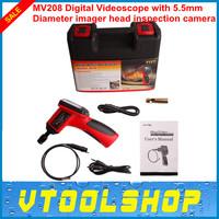 Original Autel Maxivideo MV208 Digital Videoscope with 5.5mm Diameter Imager Head Inspection Camera Free Shipping MV208 5.5mm