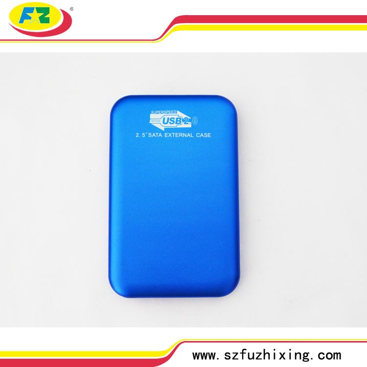 Cheap Price Support External Hard Disk 500GB USB2.0 SATA HDD Housing Enclosure Aluminum Protection Box 480Mbps Wireless&Slim(China (Mainland))