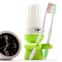Candy color toothbrush holder set doll toothbrush seat toothbrush cup