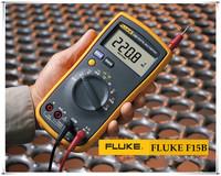 New Handheld The Digital Multimeter DMM 4000 Counts Auto/Manual AC DC V/A Ohm Cap multimeter Fluke15B Free DHL