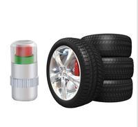 2000pcs/lot Universal Car Tire Pressure Monitor Valve Car Safety warning Cap Sensor Indicator Eye Alert