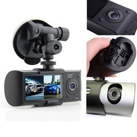 "Dual Camera Car DVR with GPS and 3D G-Sensor 2.7"" TFT LCD X3000"