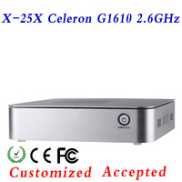 fan mini computer station pc thin client XCY X-25X 32bit Color Depth support all kinds of HD movies