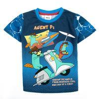 2014 new arrival nova kids children sport clothing printed cartoon spring summer short sleeve T-shirt for baby boysC2421#