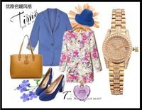 Delicate Luxury Crystals Bracelet Watch Elegant Women Calendar Dress Clock Full Steel Wristwatch Sapphire 30M Waterproof NW1490