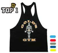 Professional muslce gym vest Brand sport tank bodybuilding workout mens tank tops cotton singlets Plus size XXL T Shirt gasp