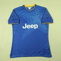 2015 New U ventus Soccer Jersey For Men AAA Top Thai Quality with Side Holes Away  Futbol Shirt Blue Camisatsa Four Szies