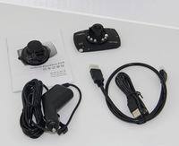 "Car Video Recorder G30 Novatek 96650 Full hd 1080P Camera 2.7""LCD With 170 Degree+Motion Detection+Night Vision+G-Sensor Car DVR"