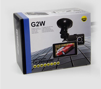 "G2WL Car DVR Camera Veicular with Novatek + G-Sensor + 3.0"" LCD + Full HD 1080P 25FPS Car DVR + H.264 + HDMI + IR Night Vision."