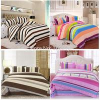 Home textile, Reactive printed 4pcs/ 3pcs bedding set ,duvet cover sheet pillowcase, size :King Queen Full