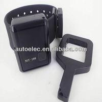 MT110 watch personal tracker water proof mini bracelet tracker tamper alarm tracker