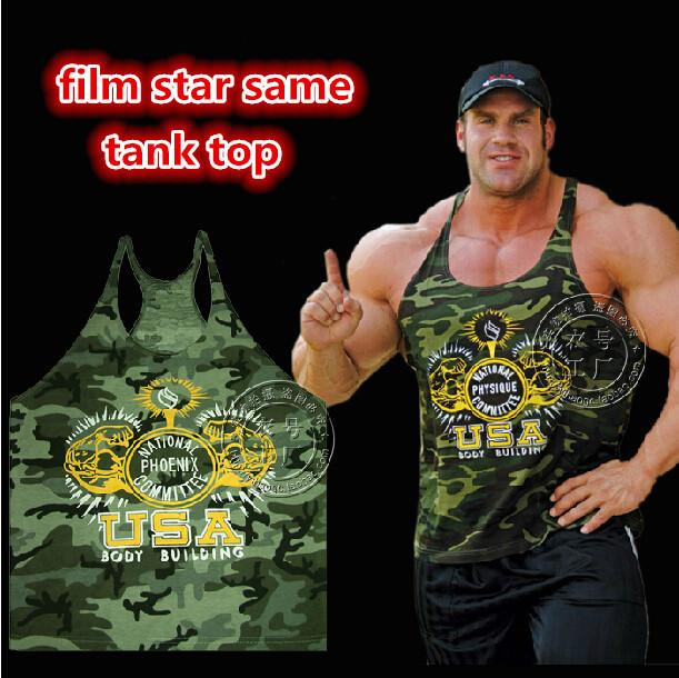 Do Mens Gasp Muscle Regata Gym Vest Stringer Bodybuilding Roupa 100% algodão Workout Desportiva Masculino de Fitness Plus Size(China (Mainland))