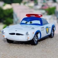 100% TOMY/TOMICA ORIGINAL PIXAR CARS 2*METAL MODEL TOY CARS FOR KIDS*CARS-POLICE FINN MCMISSILE