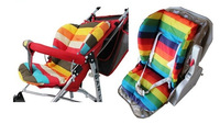 2014 new Free shipping retail Baby stroller accessries, stroller cushion thick pad dining chair pad