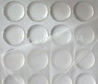 2000 pcs/lot , Transparent Epoxy Dome Sticker for DIY crafts