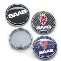 100pcs SAAB Wheel Center Caps 63mm