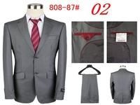 new 2014 mens suits with pants for men groom suit  male dress suit (coat + pants) size S M L XL XXL XXXL Free shipping