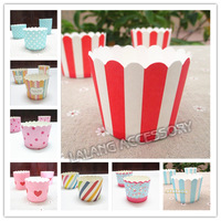 Free Shipping 50pcs/Set Colors Cake Baking Paper Cup Liners Muffin Cupcake Cup Mold Home Party Kitchen Supplies 672351