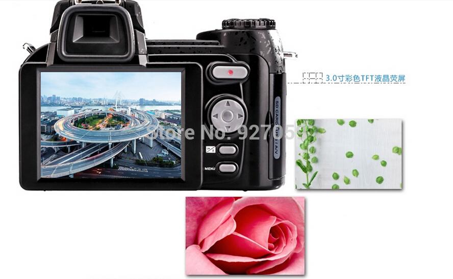 Free Shipping burst models D3200 digital camera 16 million pixel camera Professional SLR camera 21X optical