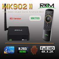 Rikomagic RKM MK902II Quad Core Android 4.4 RK3288 2G DDR3 8G ROM Bluetooth Dual Band Wifi Gbit Ethernet[MK902II/8G+MK705]