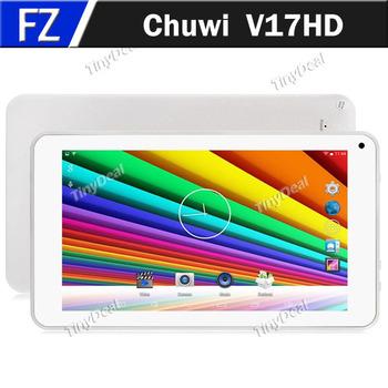 """Большой в наличии оригинальный CHUWI V17HD 7 """" 7 дюймов IPS экран Android 4.4 RK3188 четырехъядерных процессоров 8 ГБ планшет пк WiFi OTG оперативной памяти 1 ГБ таблетки"""