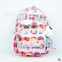 The new Harajuku backpack shoulder bag backpack schoolbag Korean 41*28*17CM    NBF132 Y8PE