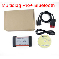 New Design Multidiag Pro+ V2014.2 Bluetooth for Cars/Trucks same as cdp pro plus AND ds150 + TF card freeshipping by DHL