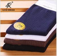 Cotton socks men's socks Casual 100%  autumn and winter thickening socks