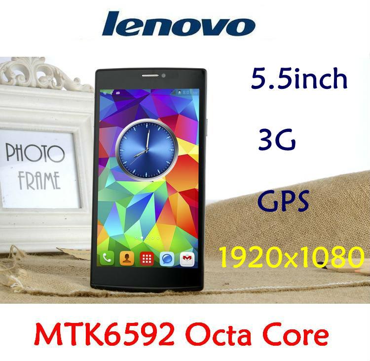 Lenovo telefono originale a850c mtk6592 octa core 1,9 GHz 2g ram gps 3g wcdma 5.5'' 1920x1080 8mp dual sim android 4.4.3 cellulare