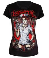 New Arrival Women Black t shirt ,Lady crop top,Short Sleeve Black T-shirts,Girl 3D Printed Tee ,Drop Ship,Free Shipping.