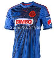 new season  Mexico's club  Guadalajara Chivas  AWAY thailand  top quality   soccer jerseys free shipping shirts
