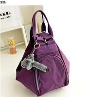 Women's Shoulder Bag kippling Handbag girl fashion Nylon messenger bag Casual travel bag monkey chain free shipping