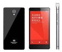"""Original Xiaomi Red mi Note phone shell / Red mi Note 5.5""""  Plastics cover metal shell mobile phone sets Free Shipping"""