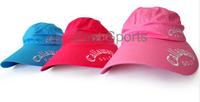 2шт мужчин и женщин в козырек шапки гольф многоцветные шапочка открытый кепку гольф Кап анти УФ с высоким качеством