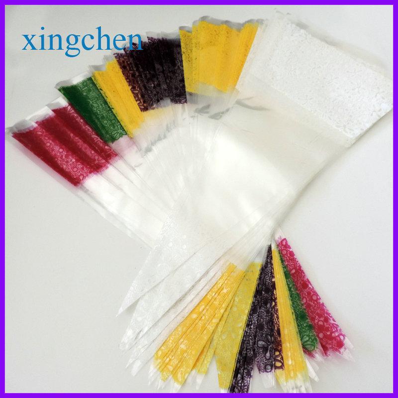 YI wu 100pcs Treat Loot Party Sweet printed cone bags(China (Mainland))