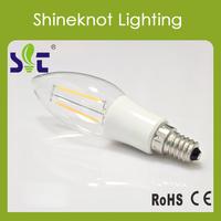 C35 E14 Candle Lamp LED Filament  Bulb