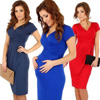 women summer dress 2014 Women Maternity Dresses plus size clothing Elegant Celebrity casual dress bodycon cocktail dresses  N53