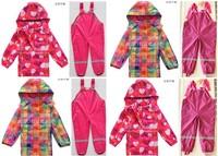 2014 New Topolino Children Weatherproof Waterproof Ski Biking, Skiing, Traveling, Hiking, High-quality Children's Clothing Suit