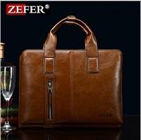 Hot sale!! New Genuine Leather Men Bag Briefcase Handbag Men Shoulder Bag Laptop Bag,free shipping