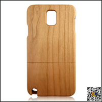 Bamboo/Cherry/Sapele /Walnut Wooden Case, Wood Cell Phone Case For Samsung Note 3