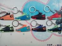 Free Shipping!Popular KD 2D Shoe Keychain Basketball shoes keychain,Sneaker Key Ring,(8pcs/lot)