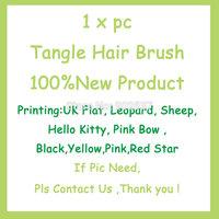 Free shipping Detangling Hair Brushes Salon Styling Tool Detangler Hair Comb Anti-static Hair Brushes Hairdressing Styling Tools